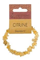 Silverstone Crystal Chip Bracelet - Citrine - Eco Range
