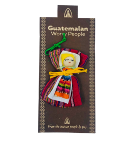 Silverstone Guatemalan Worry Doll Large with Bag
