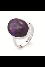 Stones & Silver Amethyst Ring