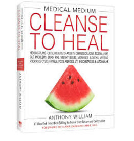 Books Cleanse to Heal by Anthony William