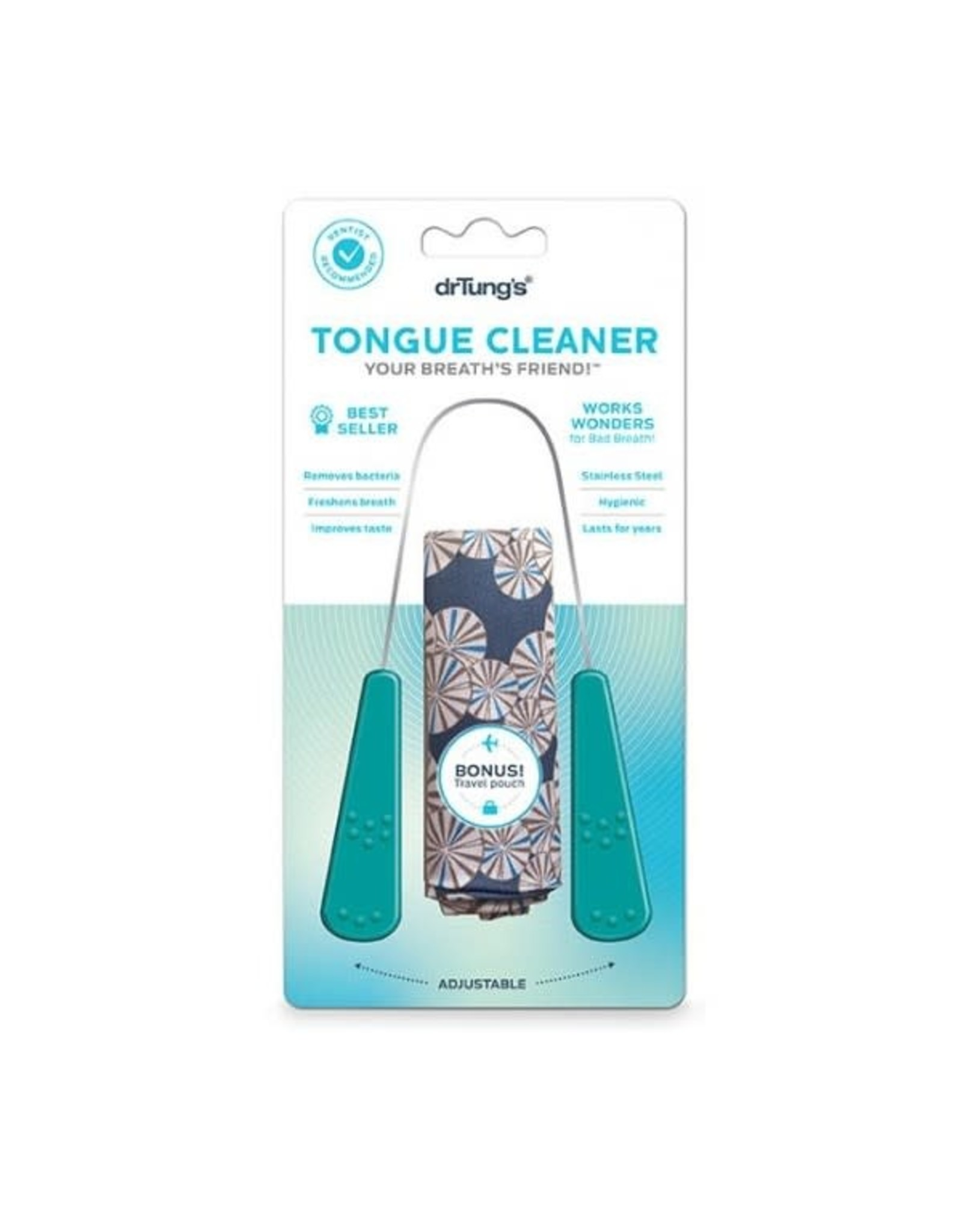 Dr Tung's Tongue Cleaner Stainless Steel