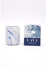 Lava - Sea Salt Rose Candle