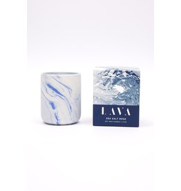 Lava - Sea Salt Rose Candle