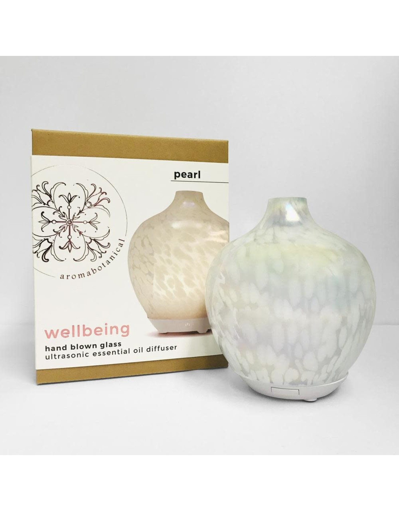 AromaBotanicals Ultrasonic Diffuser - Pearl