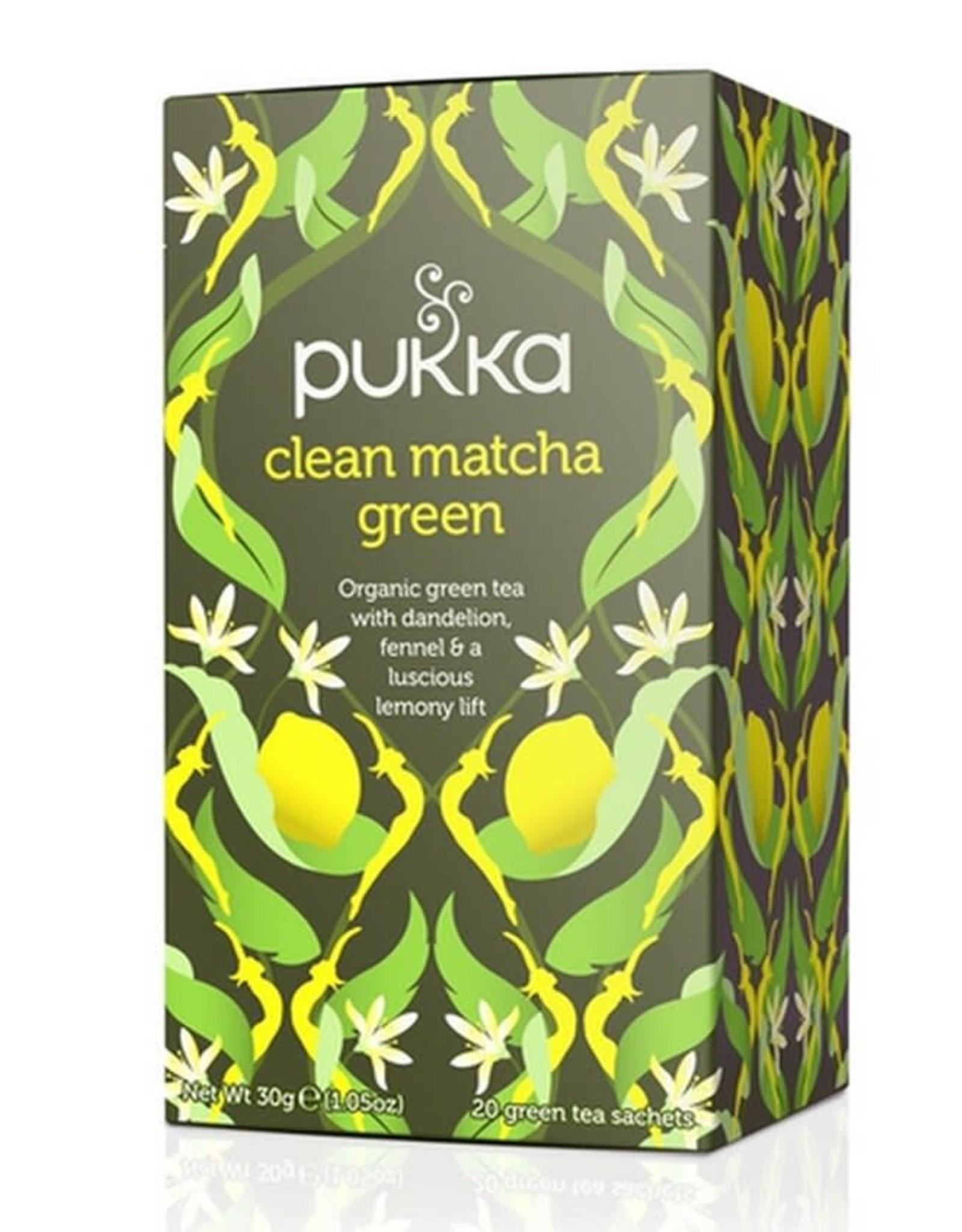 Pukka Clean Matcha Green x 20 Tea Bags
