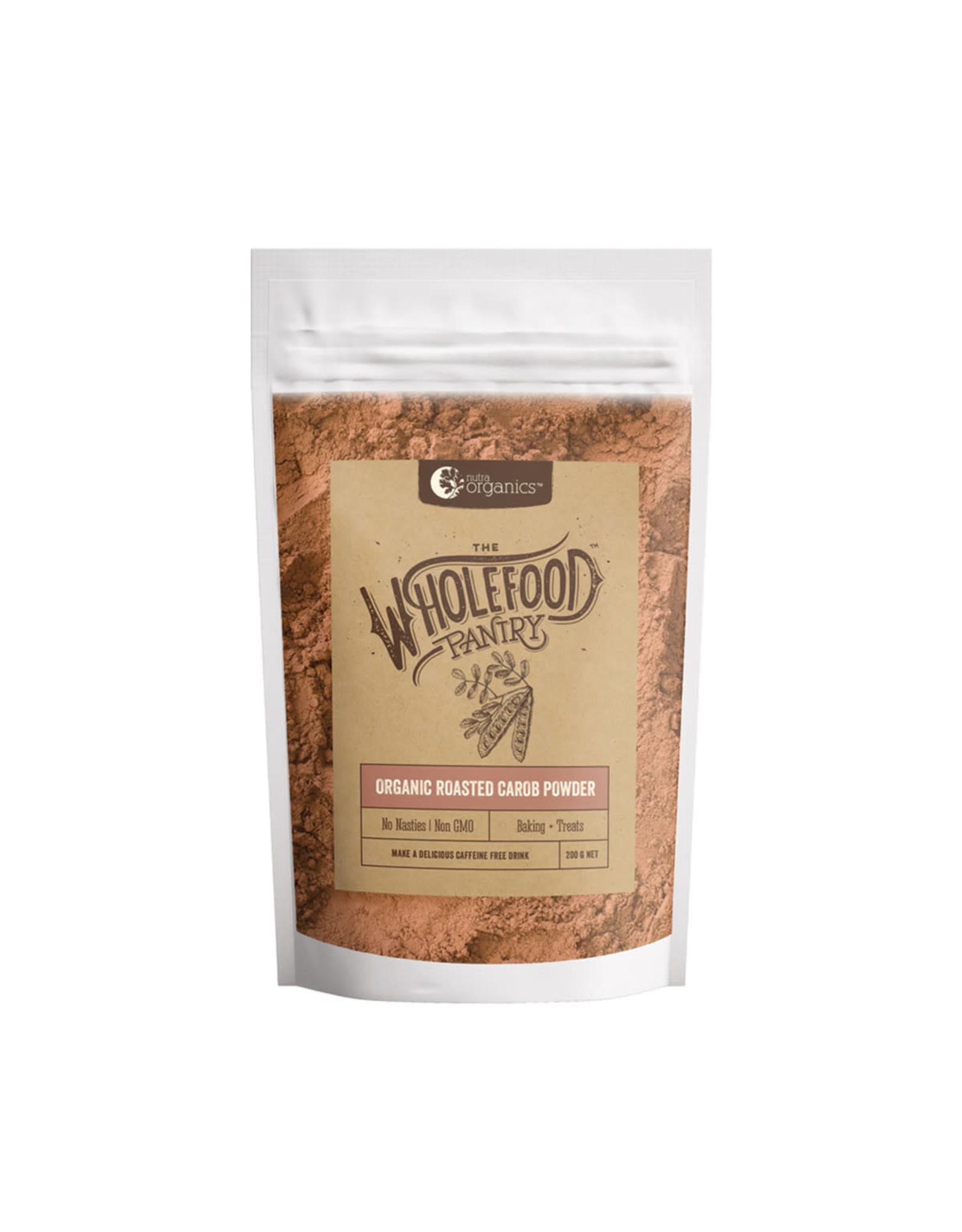 NutraOrganics Roasted Carob Powder 200g