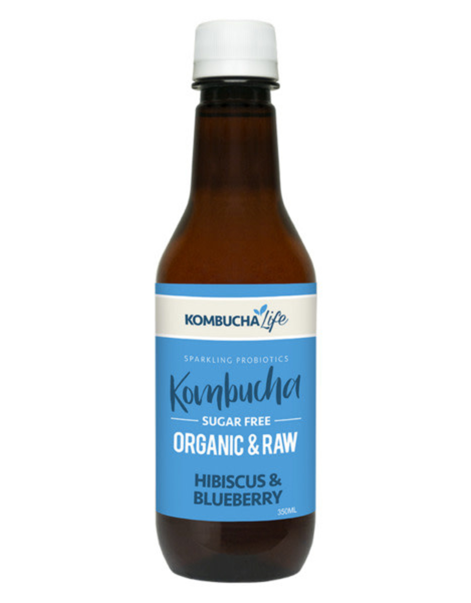 Kombucha Life Kombucha - Organic & Raw Blueberry Hibiscus 350ml