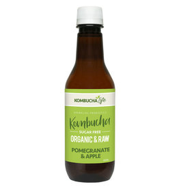 Kombucha Life Kombucha - Organic & Raw Pomegranate Apple - 350ml