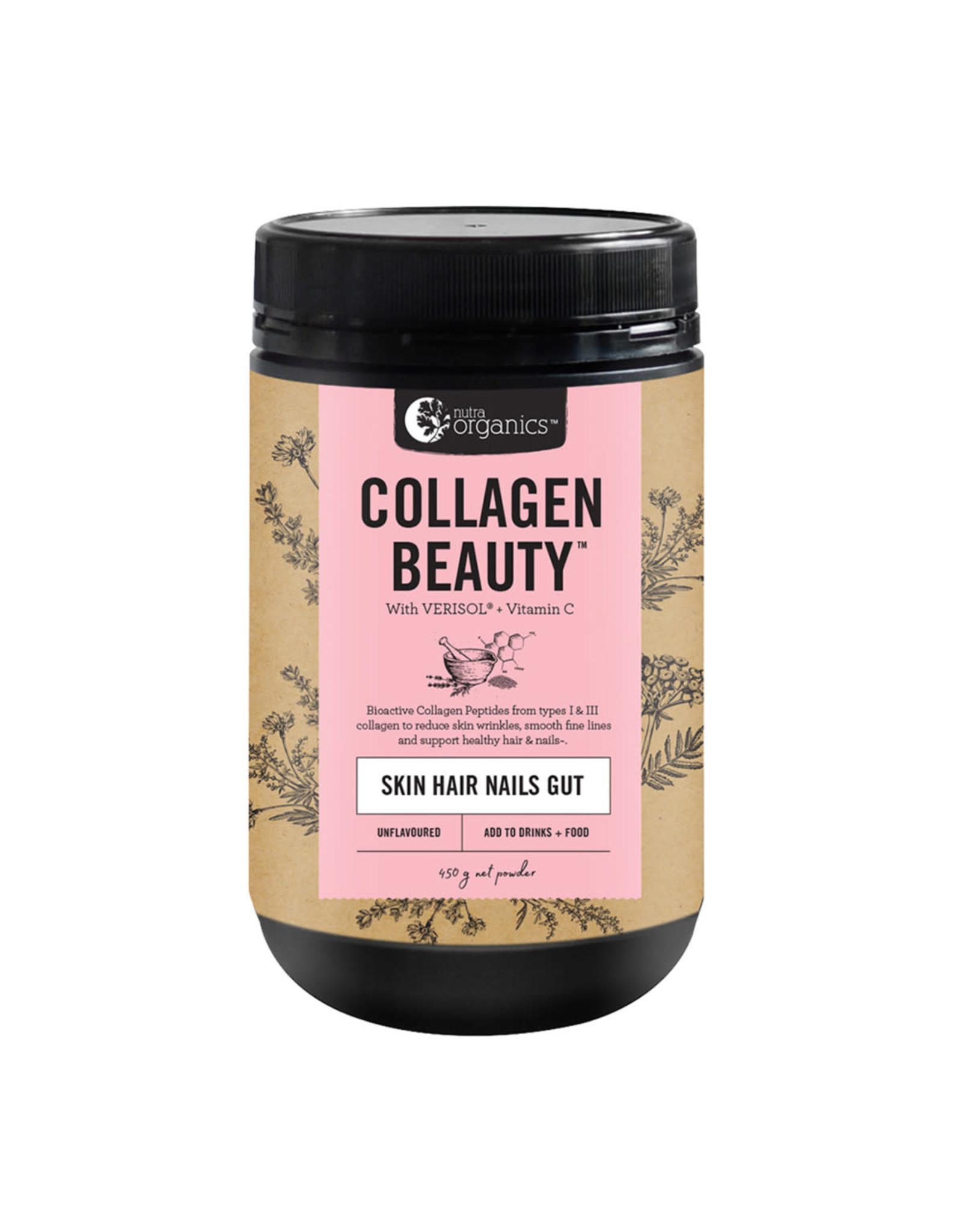 NutraOrganics Collagen Body Skin Hair Gut Health