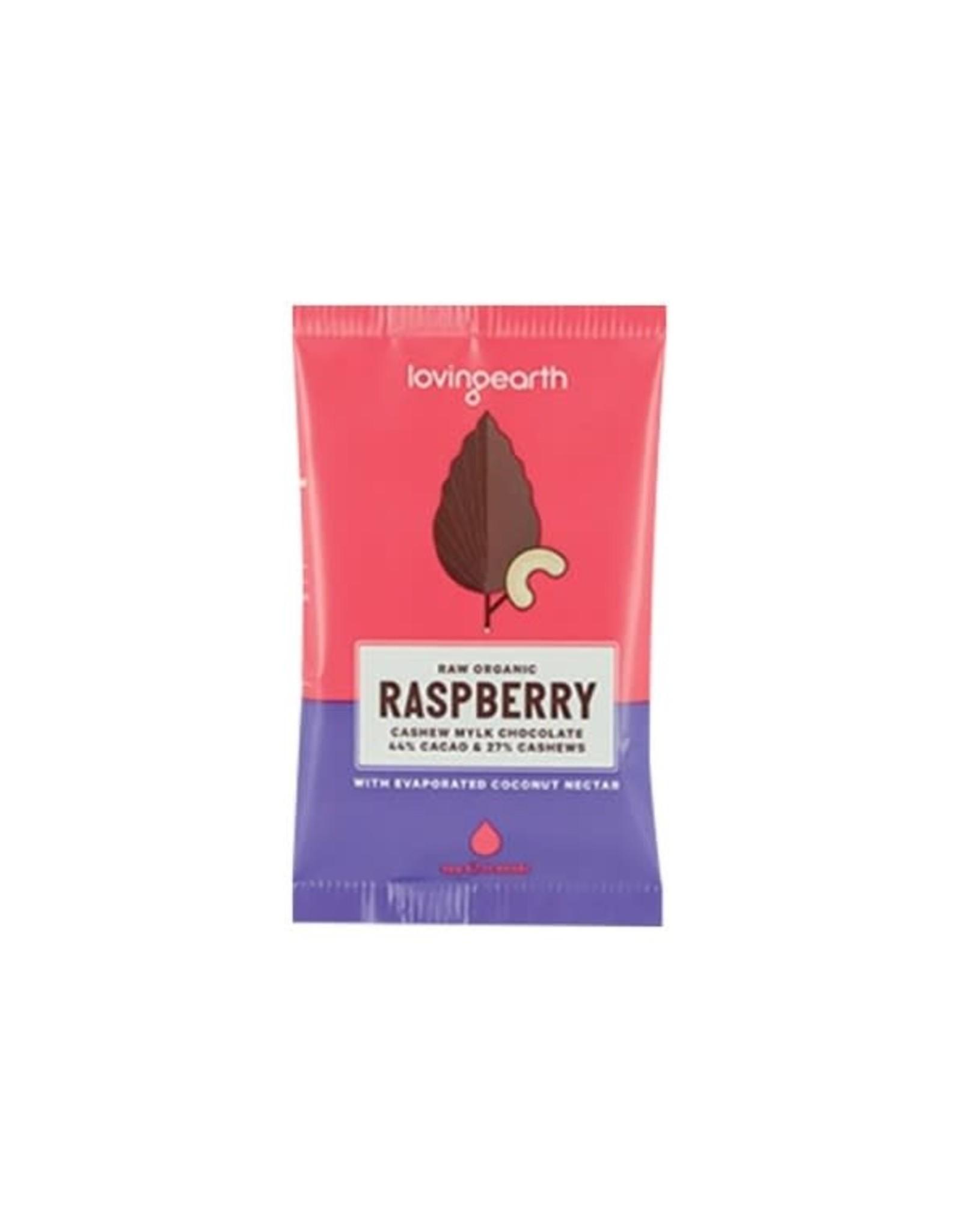 Loving Earth Raspberry Mylk Chocolate 30g