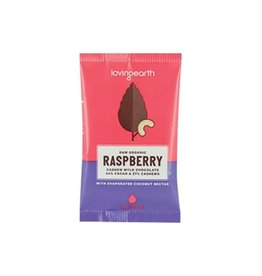 Loving Earth Raspberry Mylk Chocolate 30g