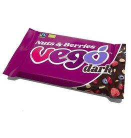 Vego Dark Chocolate Bar - Nuts & Berries 85g