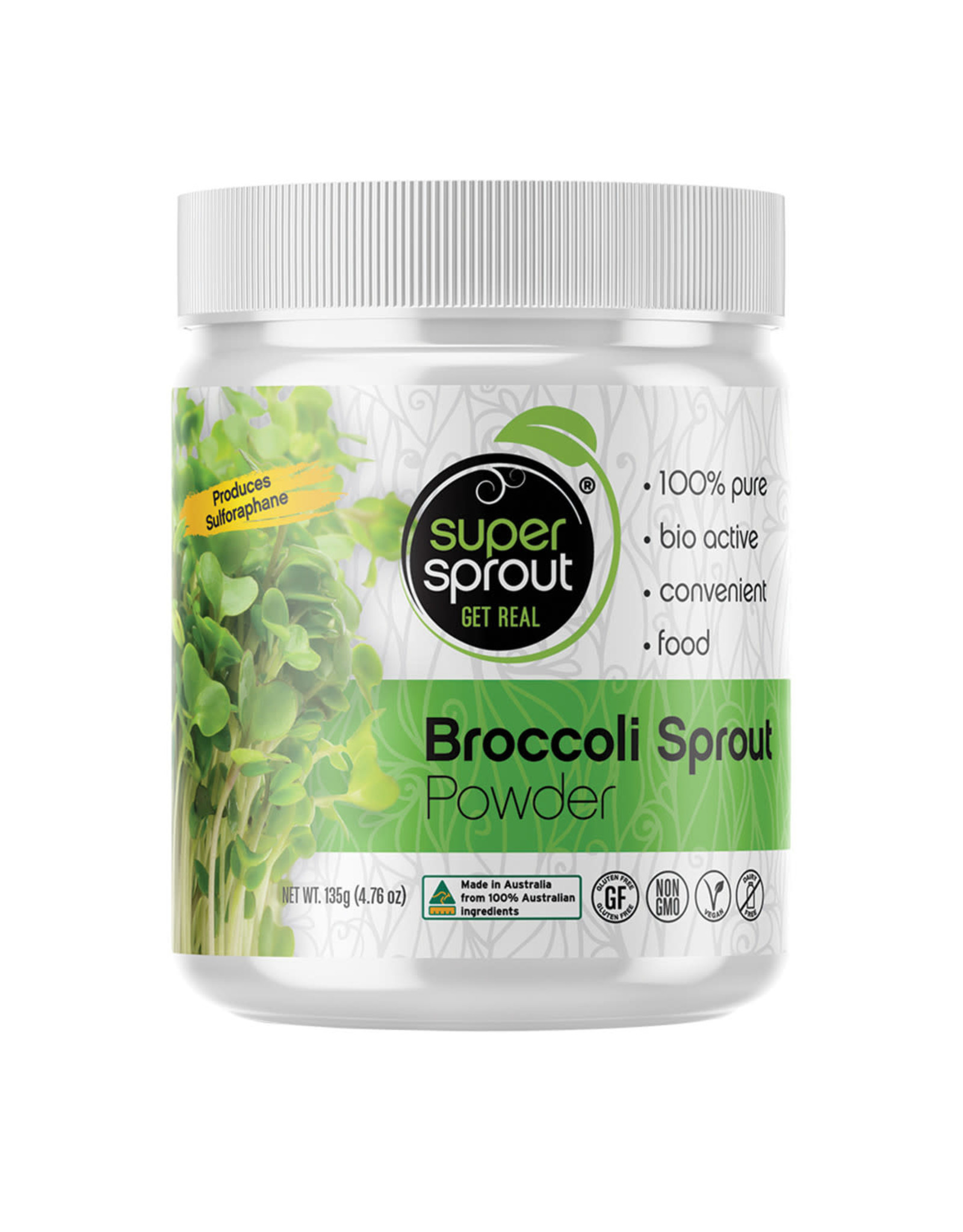 Super Sprout Broccoli Sprout Powder
