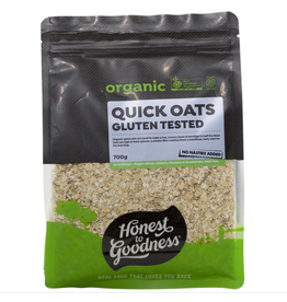 Honest To Goodness Quick Oats - Gluten Tested 700g