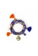 Intrinsic Courage Charm Bracelet
