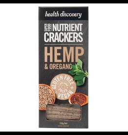 Health Discovery Hemp & Oregano Nutrient Crackers