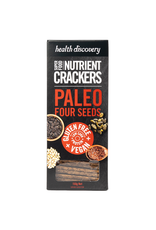 Health Discovery Paleo Four Seeds Nutrient Crackers 150g