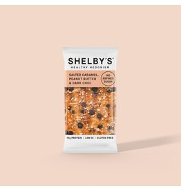 Shelby's Healthy Hedonism Peanut Butter, Coconut & Dark Choc 40g