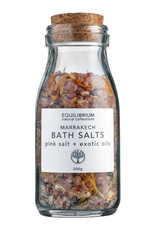 Equilibrium Natural Collections Marrakech Bath Salt Pink Salt & Exotic Oils