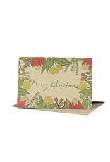 Deer Daisy Christmas Natives Greeting Card