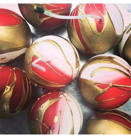 RawLight Christmas Ball Candle - 80mm