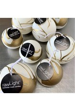 RawLight Christmas Ball Candle - 80mm