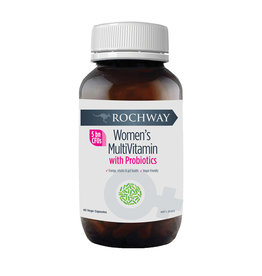 Rochway Women's Multivitamin with Probiotics (5 Billion CFU) 40vc