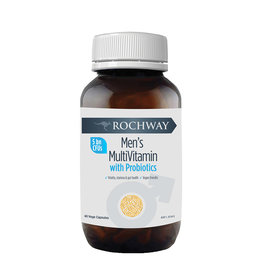 Rochway Men's Multivitamin with Probiotics (5 Billion CFU) 40vc