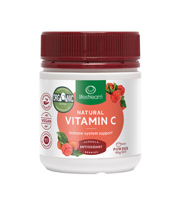 Lifestream Natural Vitamin C (Acerola Berries) 60g