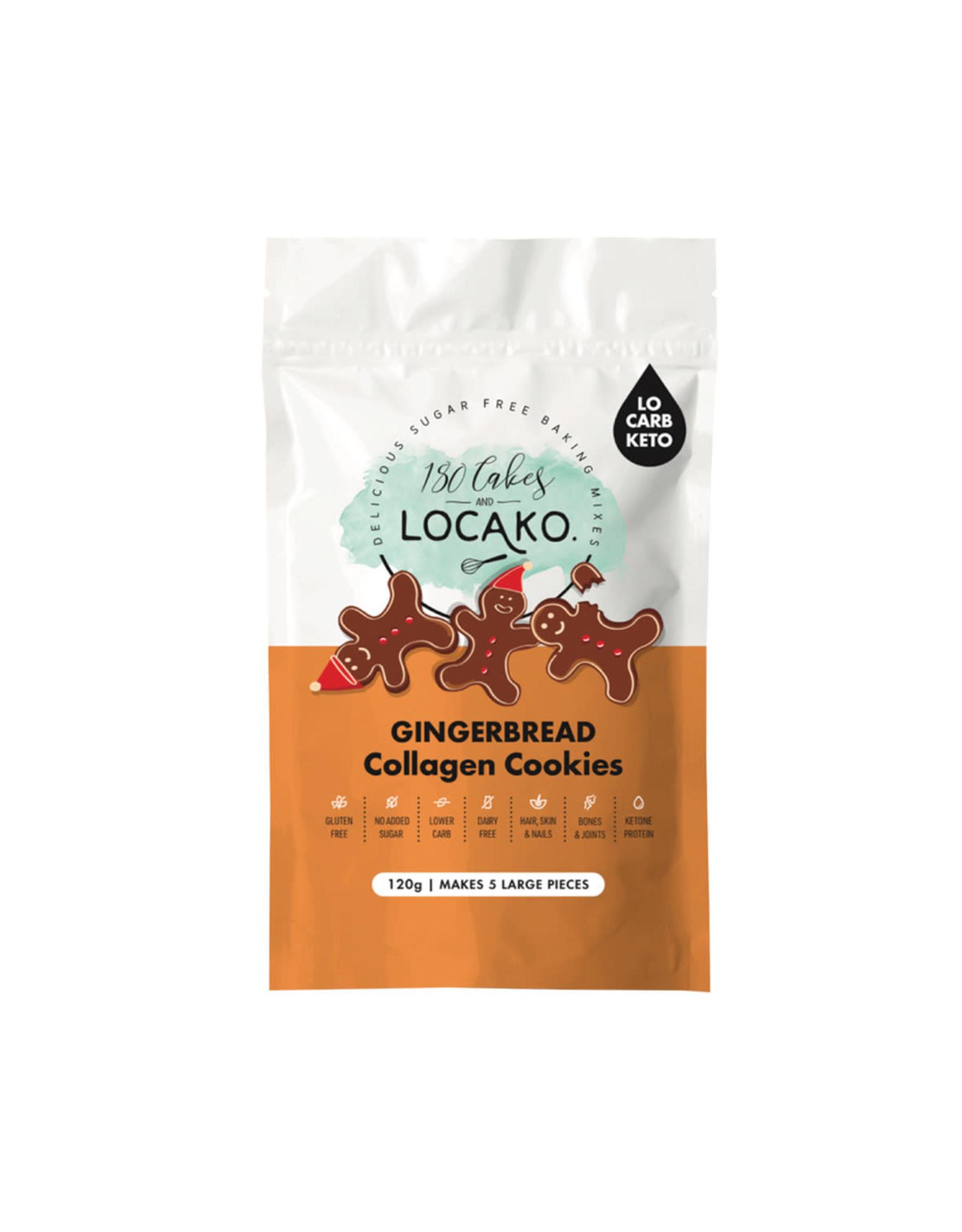 Locako Collagen Cookies Gingerbread (DIY Mix) 120g