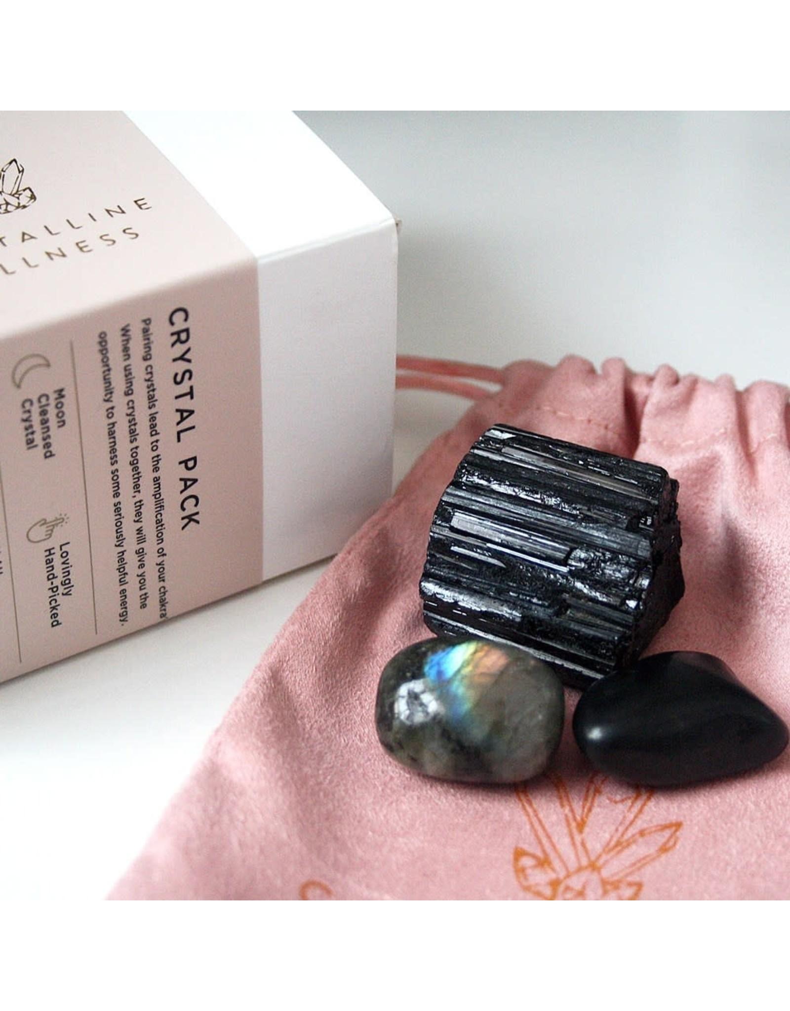 Crystalline Wellness Crystal Packs - Protection