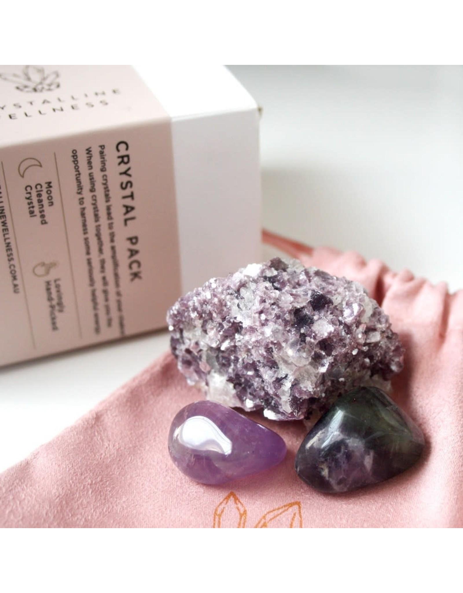 Crystalline Wellness Crystal Packs - Stress Less