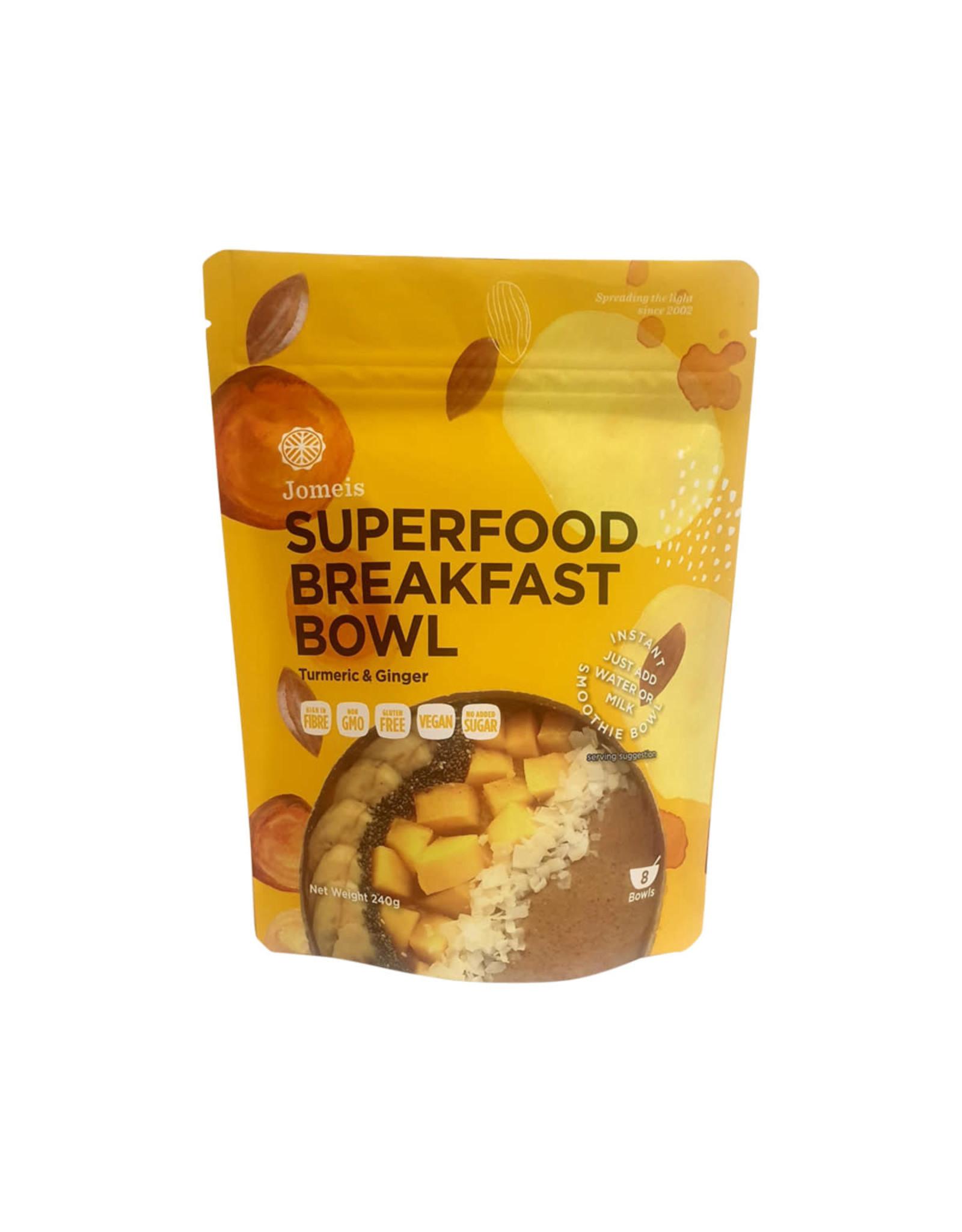 Jomeis Superfood Breakfast Bowl Mix Turmeric & Ginger 240g
