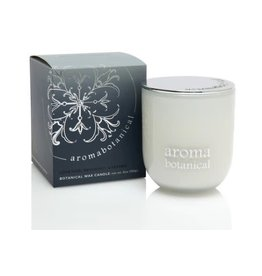 AromaBotanicals Glass Candle - Luxe Oud, Bergamot & Pepper - 185g