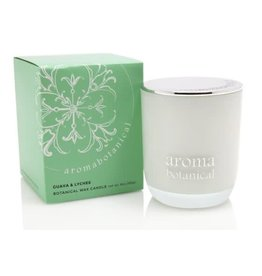 AromaBotanicals Glass Candle - Guava & Lychee 185g