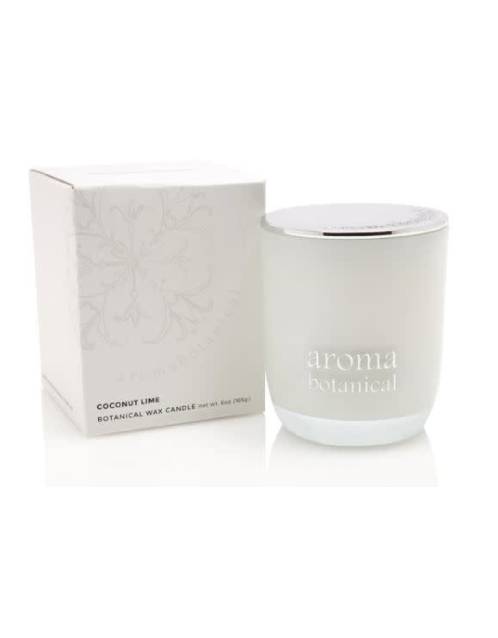 AromaBotanicals Glass Candle - Coconut & Lime 185g