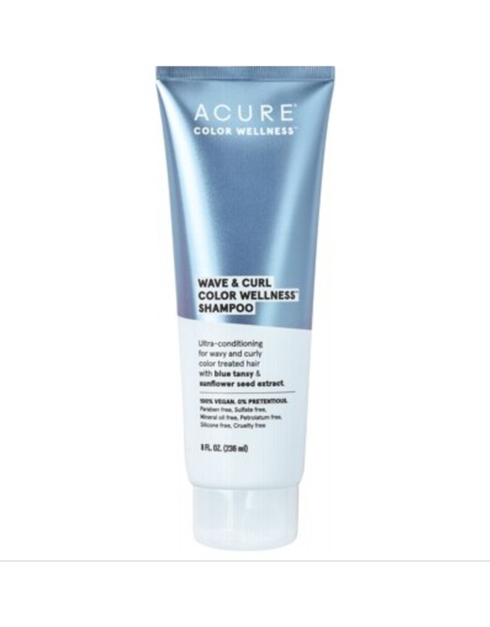 Acure Wave & Curl Colour Wellness Shampoo 236ml