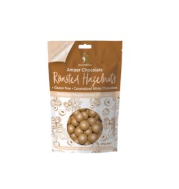 Dr Superfoods Roasted Hazelnuts Amber Chocolate 125g