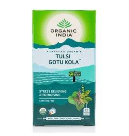 Organic India Tulsi Tea Gotu Kola 25 Bags