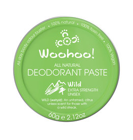 Happy Skincare Woohoo Deodorant Paste Wild Tin 60g