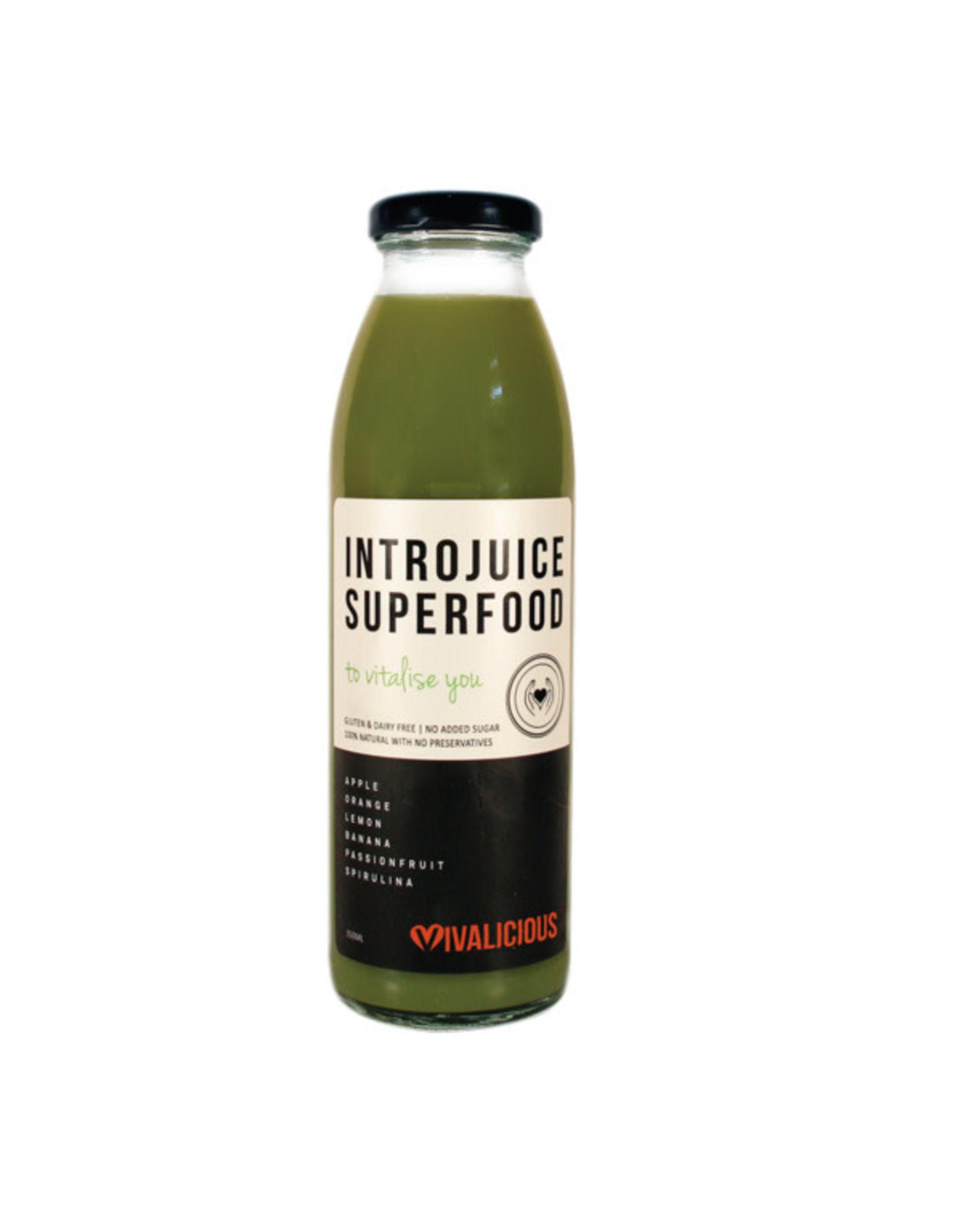 Vivalicious Introjuice Superfood - Vitalise - 350ml