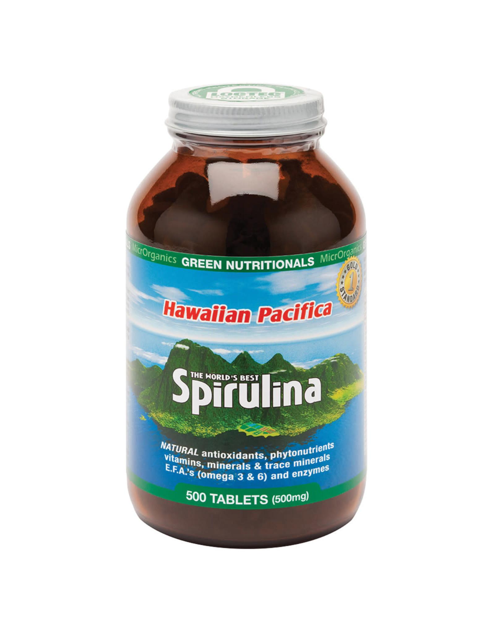 MicroOrganics Hawaiian Pacifica Spirulina 500mg