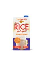 Pure Harvest Organic Rice Milk - Unsweetened