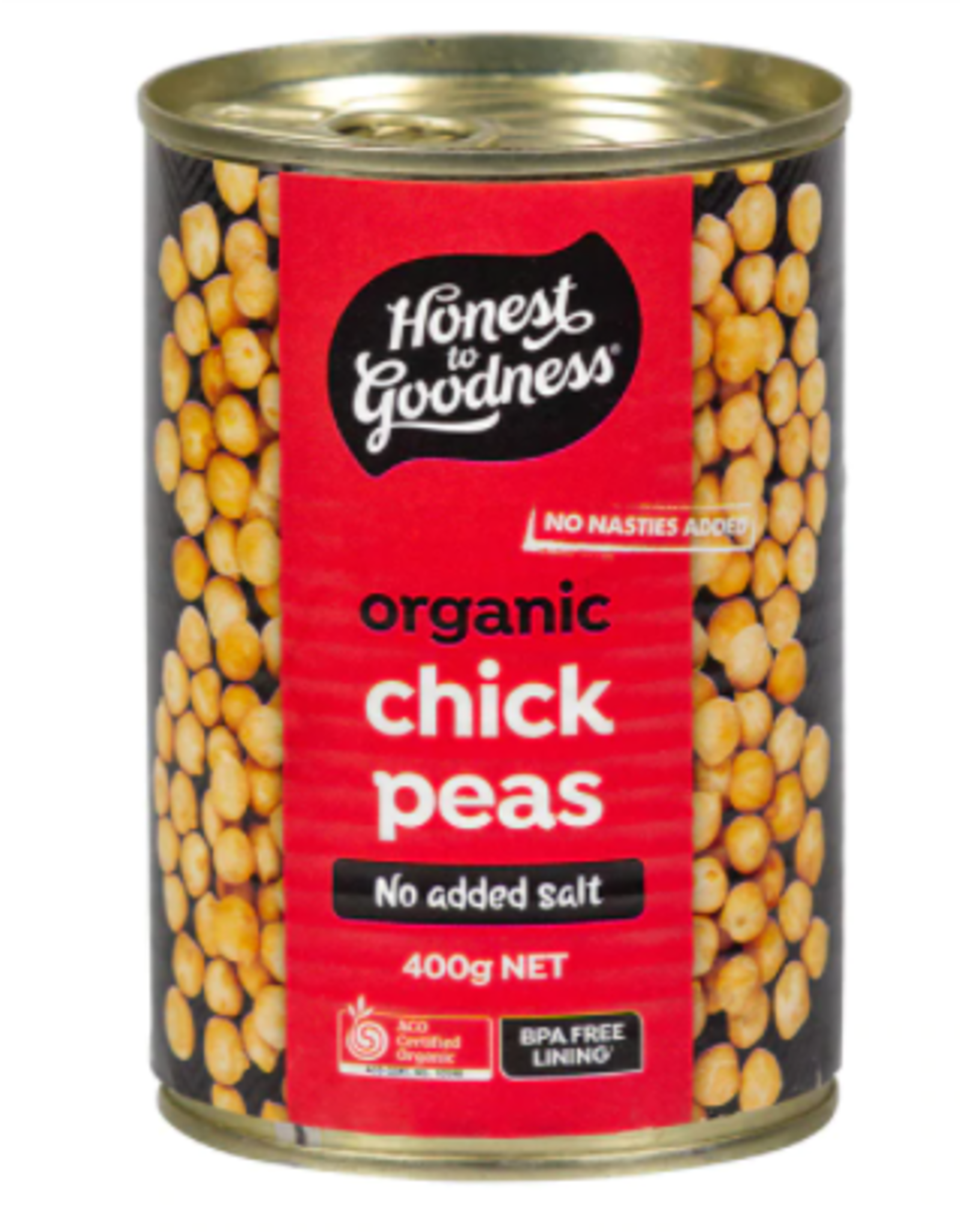 Honest To Goodness Canned Chick Peas - 400g