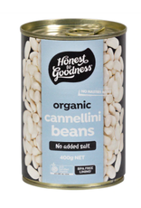Honest To Goodness Canned Cannellini Beans - 400g