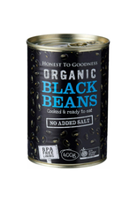 Honest To Goodness Canned Black Beans - 400g