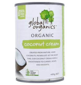 Global Organics Organic Coconut Cream 400g