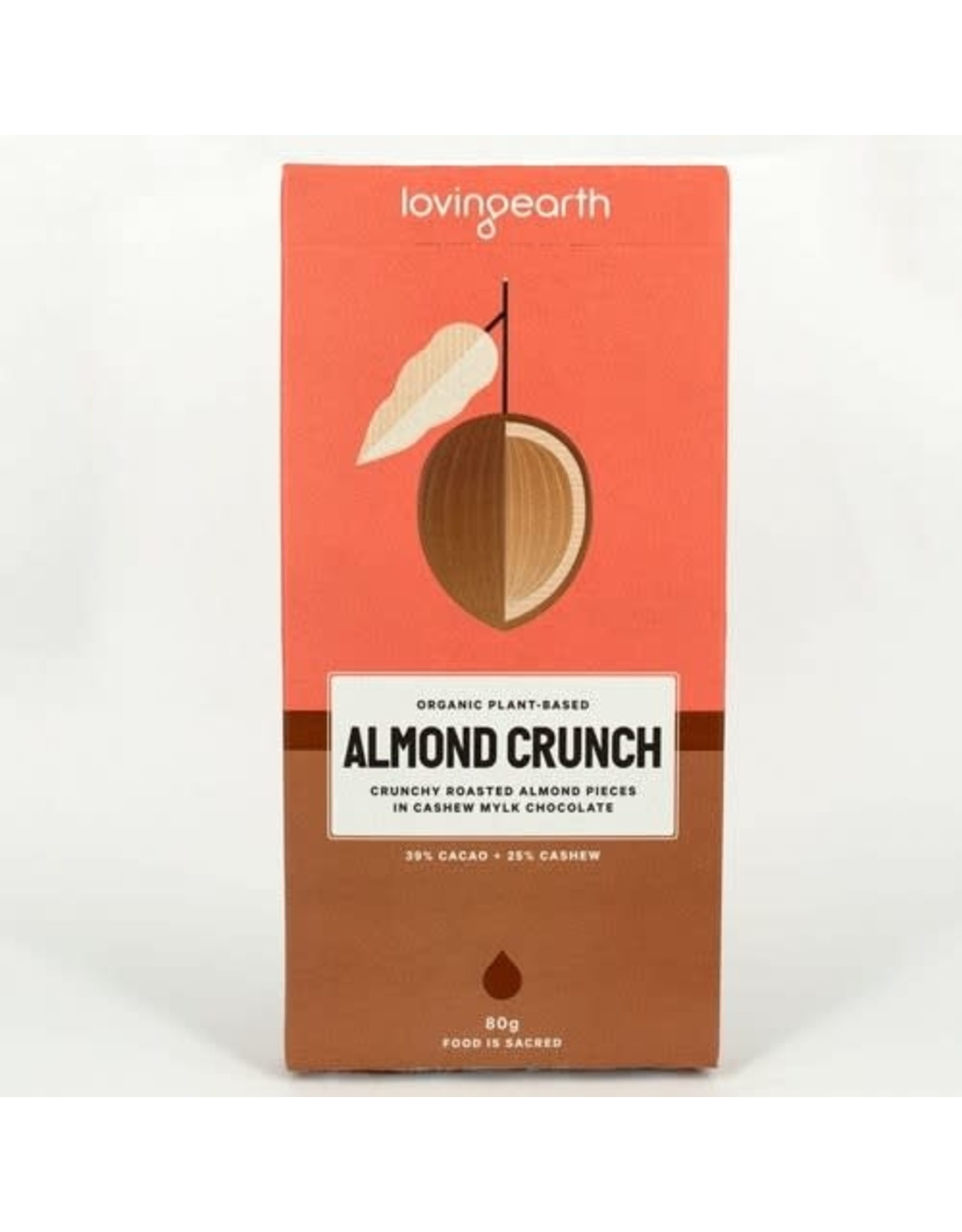 Loving Earth Almond Crunch 80g