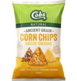 Cobs Ancient Grain Corn Chips Cheese 130g