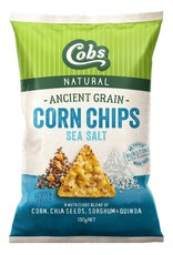 Cobs Ancient Grain Corn Chips Sea Salt 130g